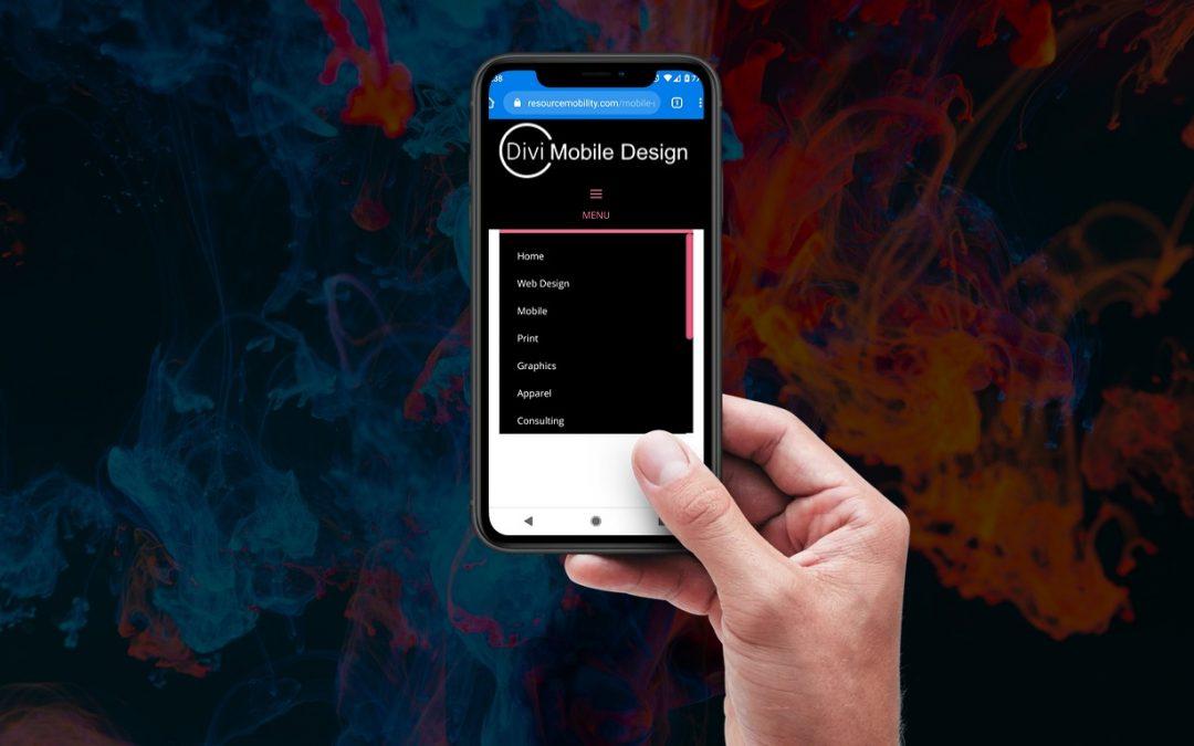 How to Control the Divi Mobile Menu Top Border